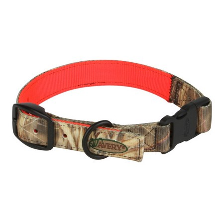 Avery, Reversible Dog Collar, Camo to Blaze Orange