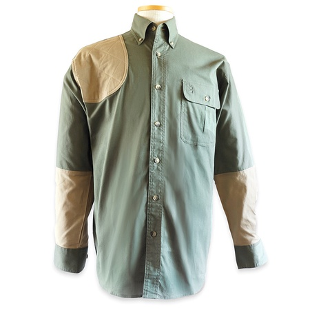 Bob Allen, High Prairie Hunting Shirt, Long Sleeve, Green/Tan