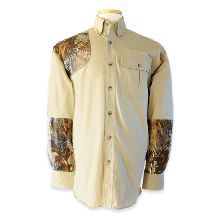 Bob Allen, High Prairie Hunting Shirt, Long Sleeve, Khaki/Camo