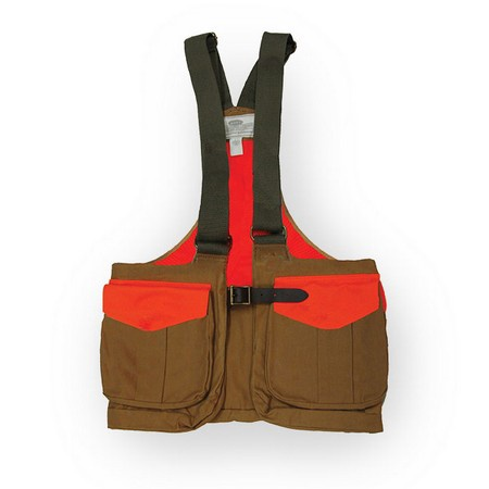 Boyt, Waxed Cotton Strap Vest with Mesh Back