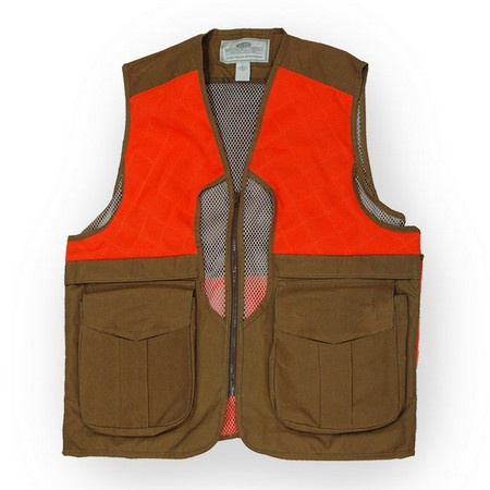 Boyt, Waxed Cotton Upland Vest with Mesh Back