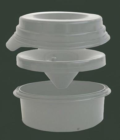 Buddy Bowl, No Spill Water Bowl, 64 oz