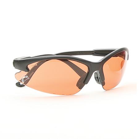 Bullchukar Sportsman Glasses, Belgium Bronze Lens, Black Frame