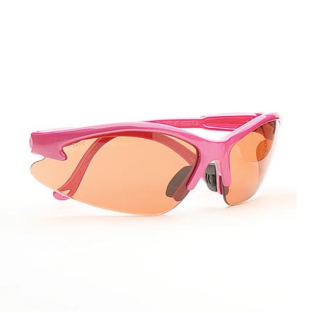 Bullchukar Sportsman Glasses, Belgium Bronze Lens, Pink Frame