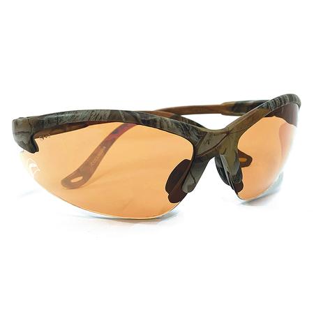 Bullchukar Sportsman Glasses, Belgium Bronze Lens, Camo Frame