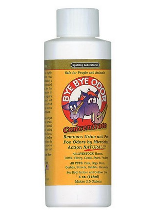 Bye Bye Odor, Concentrate, Scented, 4 oz