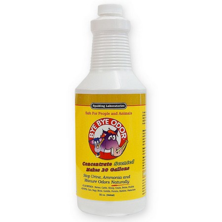 Bye Bye Odor, Concentrate, Scented, 32 oz