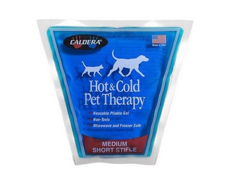 Caldera, Short Stifle Pet Therapy Gel Pack, Medium