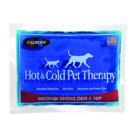 Caldera, Shoulder & Hip Pet Therapy Gel Pack, Medium