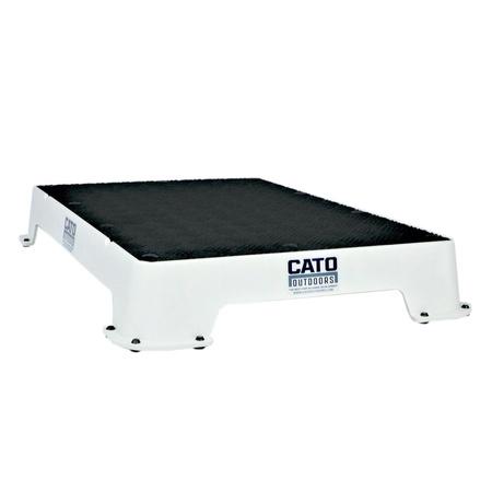 Cato Board, Dog Place Board, White, Rubber