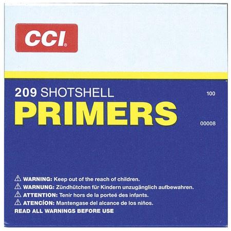 CCI, 209 Primers