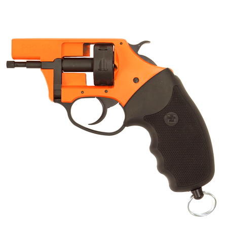 Charter Arms, PRO 209 Blank Revolver, Orange