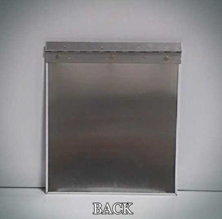 Uplander Dog House Door, Standard Aluminum Flap