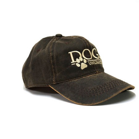 DOGS Unlimited Ball Cap, Weathered Cotton Cap