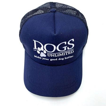 DOGS Unlimited Trucker Cap, Blue