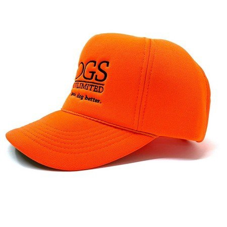 DOGS Unlimited Trucker Cap, Orange