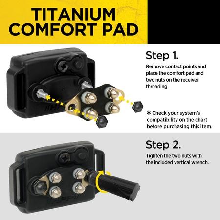 Dogtra, Titanium Comfort Pad