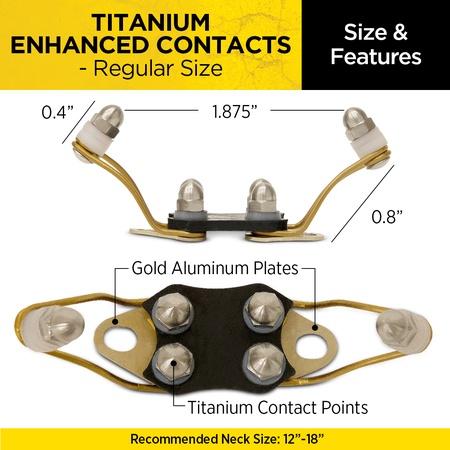 Dogtra, Titanium Enhanced Contacts