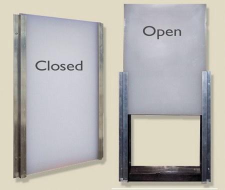 Drop-In Closing Panel for Easy Dog Door