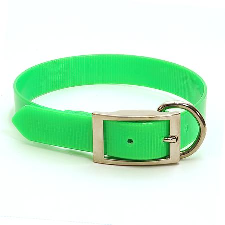 "Dura-Lon Collar, D End, 1"" W, 13"" L, Light Green"
