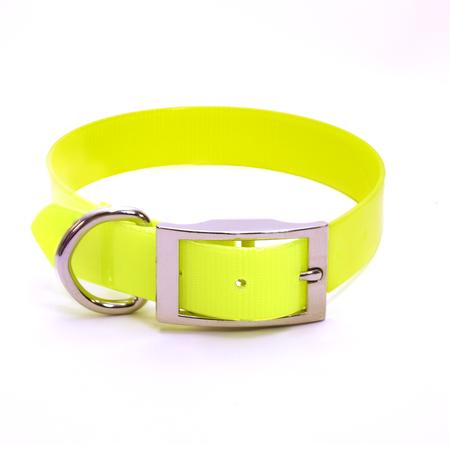 "Dura-Lon Collar, Standard, 3/4"" W, 19"" L, Yellow"