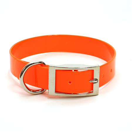 "Dura-Lon Collar, Standard, 3/4"" W, 15"" L, Orange"