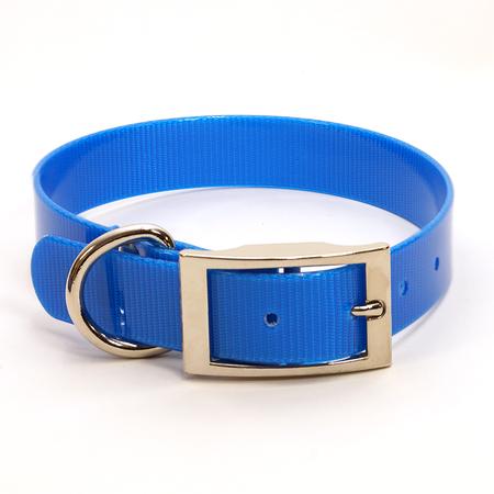 "Dura-Lon Collar, Standard, 3/4"" W, 19"" L, Royal Blue"