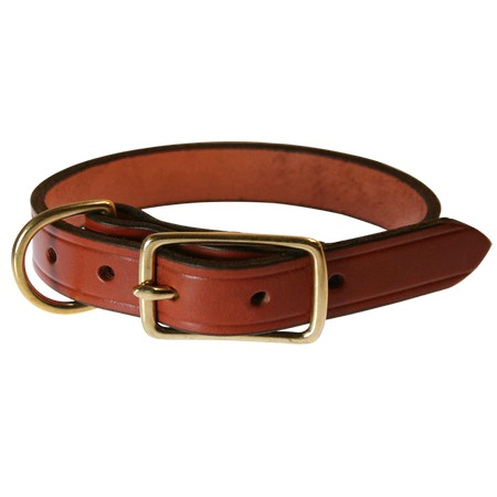 FieldKing Bridle Leather Collar, D-End Style