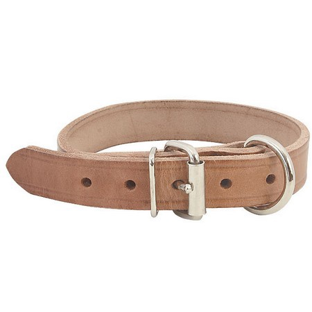 FieldKing Harness Leather Collar, D-End Style