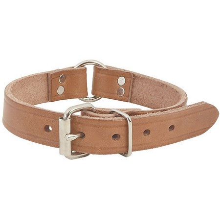 FieldKing Harness Leather Collar, Center Ring