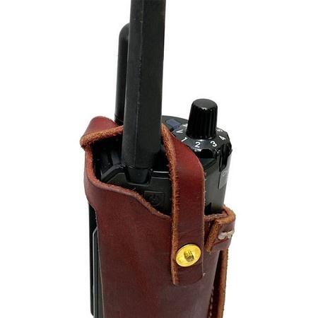 FieldKing, SK Garmin PRO 550 PLUS Transmitter Holster, Latigo Leather