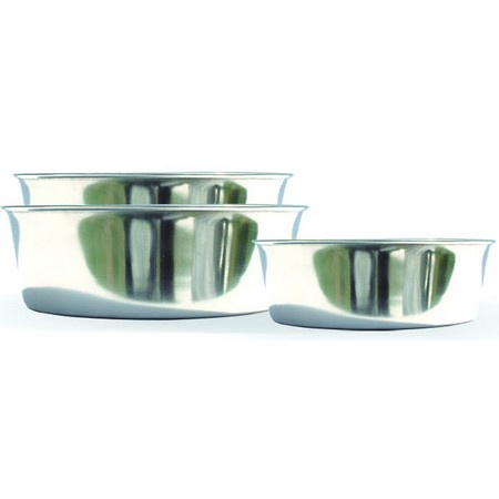 Heavy Duty Feeding Dog Bowl, Stainless Steel