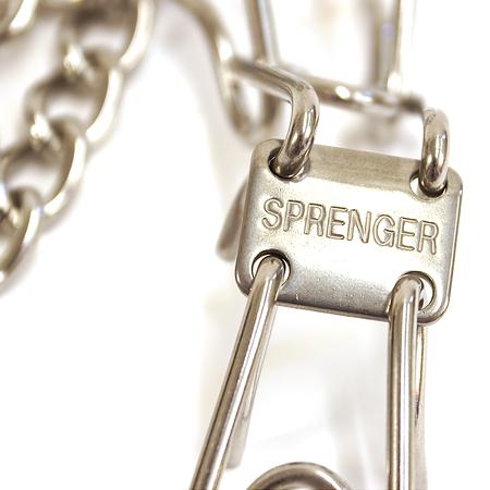 "Herm Sprenger, Ultra-Plus Prong Collar, Stainless Steel, 3.2mm, 23"" Long"