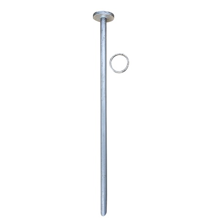 Horse Tie Out, Stake ONLY, Stainless Steel