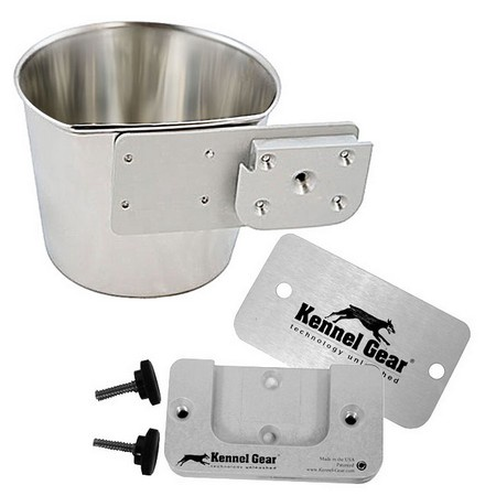 Kennel Gear, 1 Quart Crate Pail System