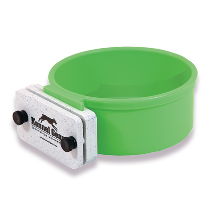 Kennel Gear, 1 Quart Plastic Bowl System