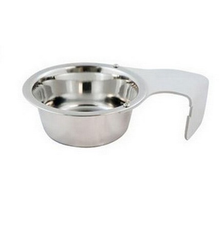 Kennel Gear, Bowl Only, Aluminum Yoke, 1 Pint Crate Bowl