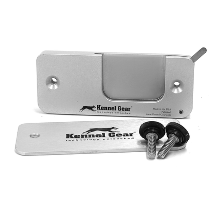 Kennel Gear, Wide Bar Mount System, with Extended Lever