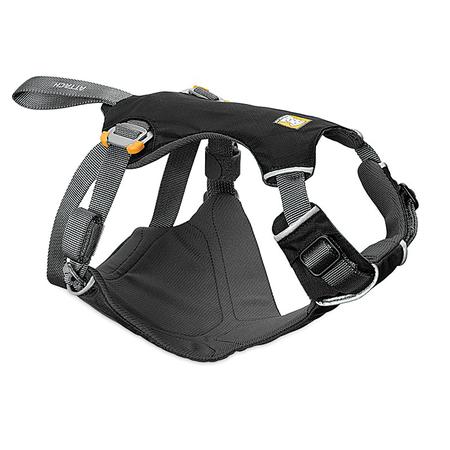 RuffWear, Load Up Vehicle Restraint Harness, Obsidian Black