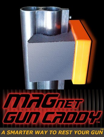 MAGnet Gun Caddy with Velcro