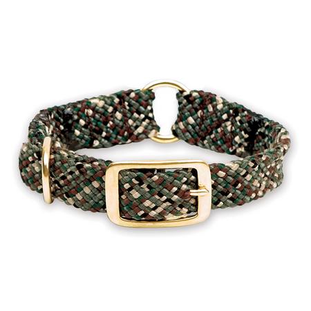 "Mendota, Center Ring Dog Collar, Camo, 1"" W"