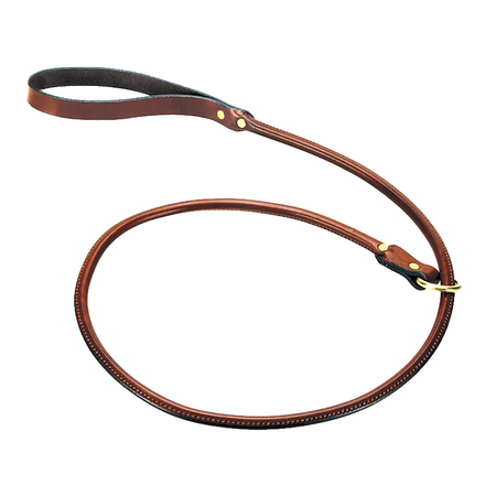Mendota, Rolled Slip Lead, Chestnut