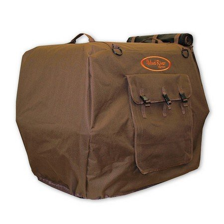 Mud River Dog Products, Bedford Uninsulated Kennel Cover, Brown
