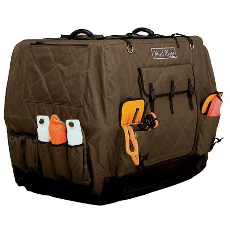 Mud River Dog Products, Dixie Kennel Cover, Brown