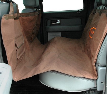 Mud River Dog Products, Hammock Seat Cover, Brown, Standard