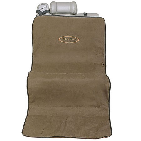 Mud River Dog Products, Shotgun Seat Cover, Brown