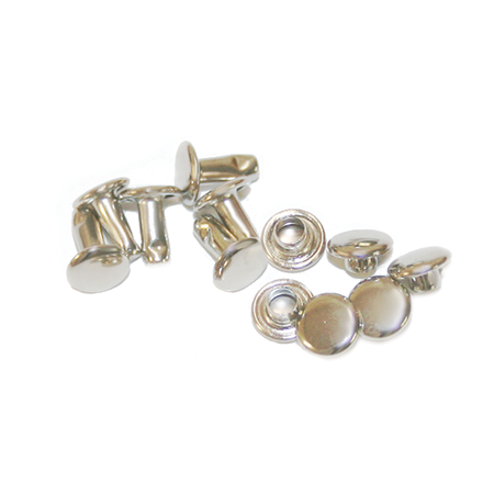 Nickel Plated Swat Rivets (6 sets per pack)