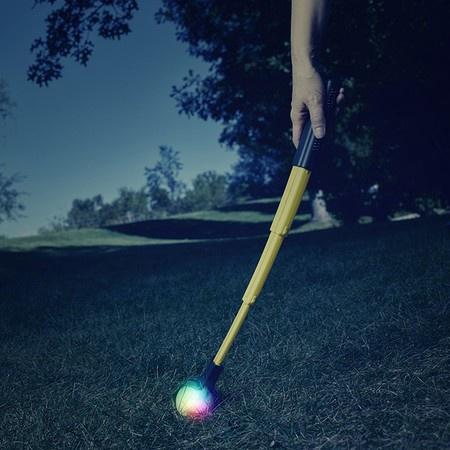 Nite Ize, Huck 'N Tuck GlowStreak Collapsible Thrower and LED Ball