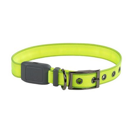 Nite Ize, NiteDog Rechargeable LED Collar, Lime/Green LED