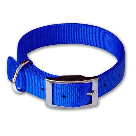 "Nylon Dog Collar, Standard, 1"" Wide, Blue"